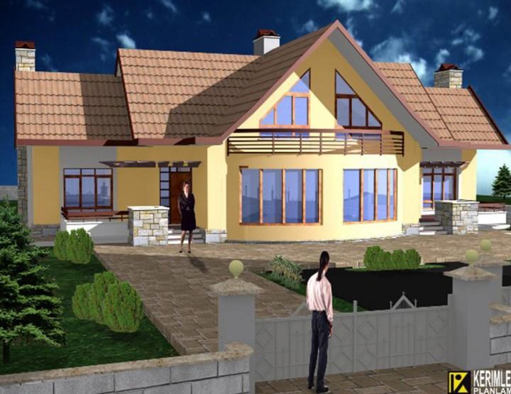 LALEBAHÇE İkiz Evi