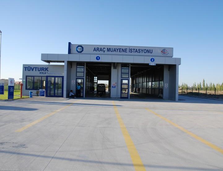 TÜVTÜRK, Araç Muayene İstasyonu - Konya