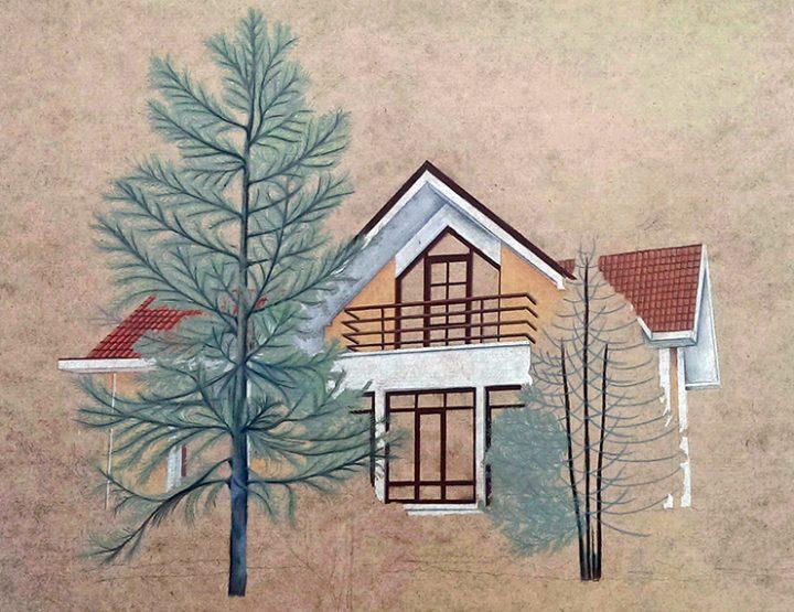 ÇINAR, Kerim Bağ Evi