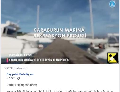 PLAJ ve ÇEVRE DÜZENLEME PROJESİ KARABURUN   /   BEYŞEHİR